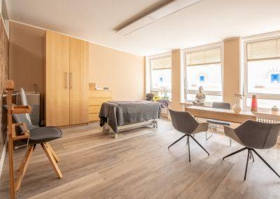 Praxis Behandlungsraum 1 - Therapiehelden GmbH